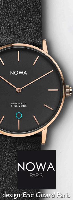 NOWA WATCH / LA MONTRE CONNECTÉE