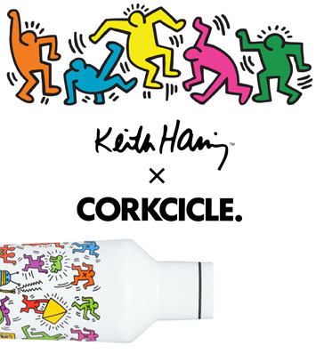 Keith Haring x CORKCICLE