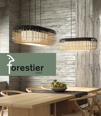 Bamboo Oval Forestier